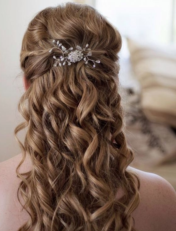 Creative And Elegant Wedding Hairstyles For Long Hair | Elegant For Creative And Elegant Wedding Hairstyles For Long Hair (View 4 of 15)