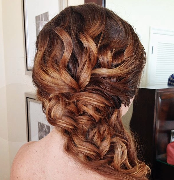 Creative And Elegant Wedding Hairstyles For Long Hair | Elegant With Creative And Elegant Wedding Hairstyles For Long Hair (View 7 of 15)