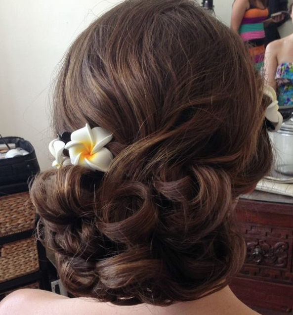 Creative And Elegant Wedding Hairstyles For Long Hair | Long Hair Inside Creative And Elegant Wedding Hairstyles For Long Hair (View 15 of 15)