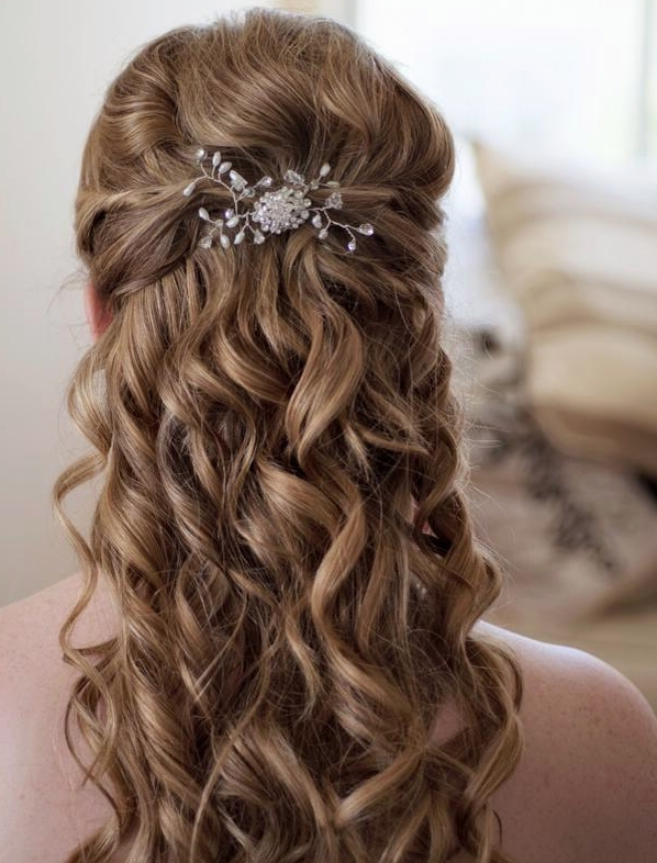 Creative And Elegant Wedding Hairstyles For Long Hair – Modwedding Intended For Elegant Wedding Hairstyles For Long Hair (View 7 of 15)