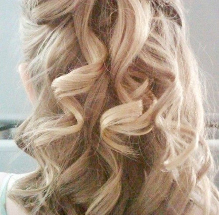 Curly Hair Impressive Hairstyles For Long Thick Updos Front And Back Within Wedding Hairstyles For Long Thick Hair (View 15 of 15)