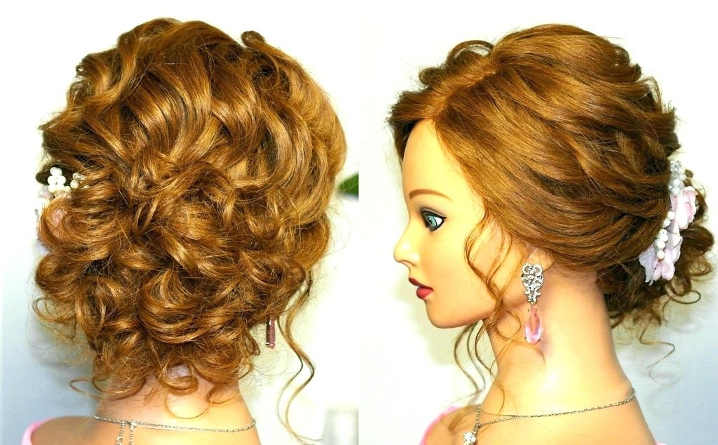 Curly Hair Updos Wedding For Curly Hair Prom Wedding Hairstyle Curly In Prom Wedding Hairstyles For Long Medium Hair (View 6 of 15)