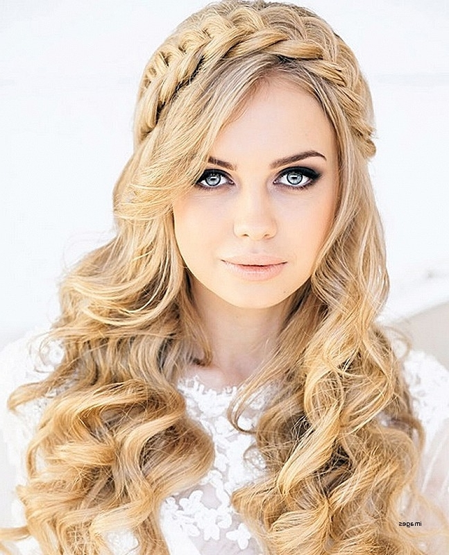 Curly Hairstyles For Wedding Guest Fresh Wedding Hairstyles Ideas With Regard To Wedding Guest Hairstyles For Long Curly Hair (View 7 of 15)