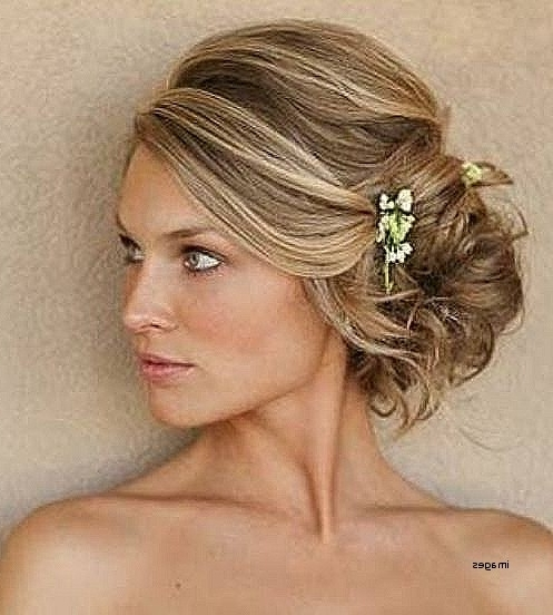 Curly Loose Bun Hairstyles Lovely Hairstyles For Wedding Side Bun Throughout Loose Bun Wedding Hairstyles (View 10 of 15)
