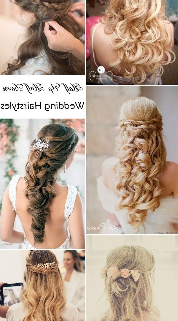 Curly Prom Hairstyle For Long Medium Hair Tutorial Wedding Best Intended For Diy Wedding Hairstyles For Long Hair (View 6 of 15)