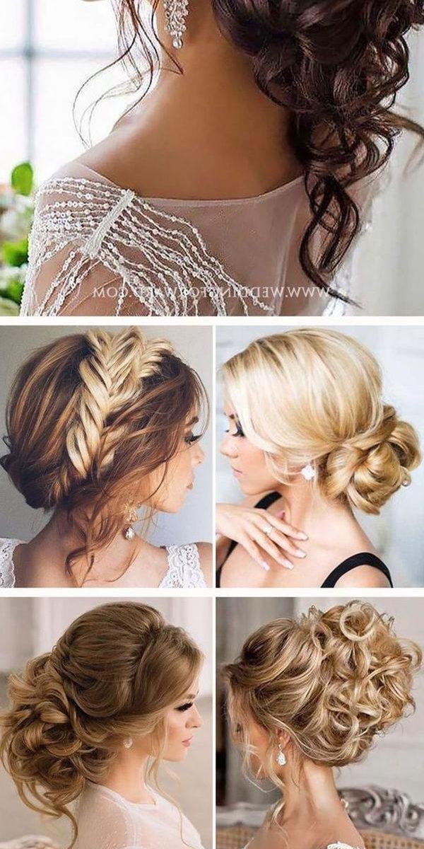 Diy Bridesmaid Hairstyles For Long Hair – The Newest Hairstyles Within Wedding Hairstyles For Fine Hair Long Length (Gallery 12 of 15)