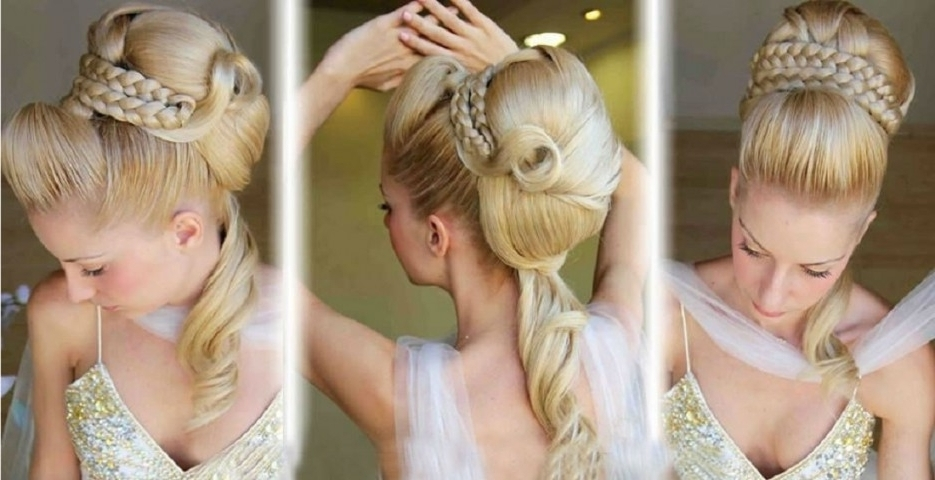 Diy Simple Wedding Hairstyles For Long Hair With Wonderful Formal Regarding Wedding Hairstyles At Home (View 4 of 15)