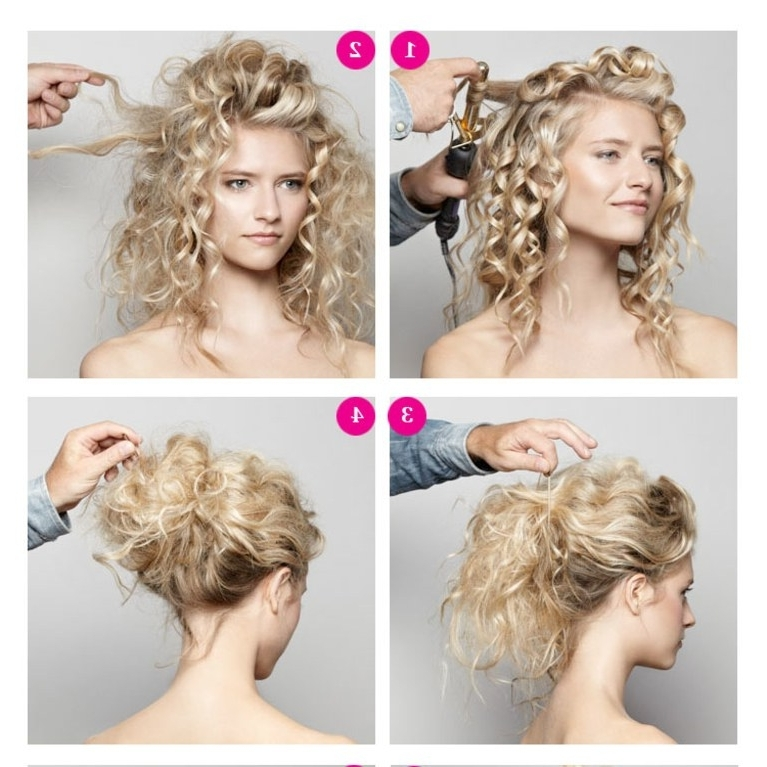 Diy Wedding Hairstyle Video: A Romantic Updo | Brides Within Diy Wedding Hairstyles (Gallery 2 of 15)
