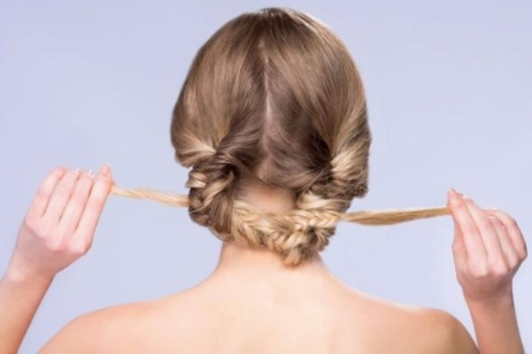 Diy Wedding Hairstyles: Learn How To Style Two Looks – Inside Weddings Pertaining To Tied Up Wedding Hairstyles For Long Hair (View 6 of 15)