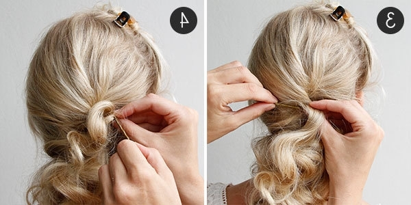 Diy Your Wedding Day Hairstyle With This Braided Updo | More In Wedding Hairstyles That You Can Do Yourself (View 6 of 15)