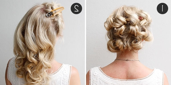 Diy Your Wedding Day Hairstyle With This Braided Updo | More With Diy Wedding Updos For Long Hair (Gallery 12 of 15)