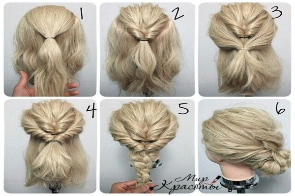 Do It Yourself Updos For Medium Length Hair – The Newest Hairstyles Regarding Do It Yourself Wedding Hairstyles For Medium Length Hair (Gallery 11 of 15)
