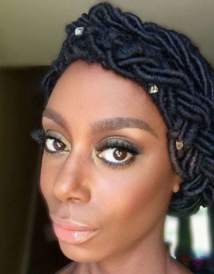 Dreadlocks For Black Women – Hollywood Official | Latest Hairstyles For Wedding Hairstyles With Dreads (Gallery 12 of 15)
