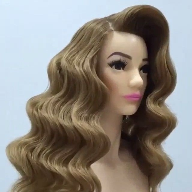 ? Press Play Waves Video Hair Tutorials @georgiykot ##fcmakeup With Regard To Vintage Wave Wedding Hairstyles (View 13 of 15)