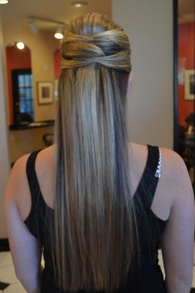 Featured Photo of Easy Wedding Hairstyles For Long Straight Hair