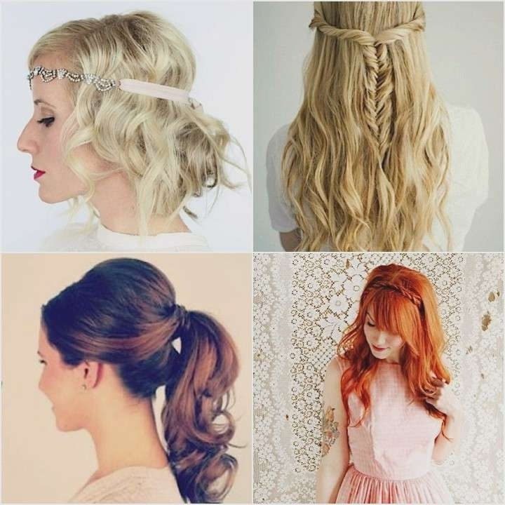 Easy Hairstyles To Do Yourself For A Wedding Lovely 12 Super Easy Throughout Diy Wedding Hairstyles For Long Hair (View 10 of 15)