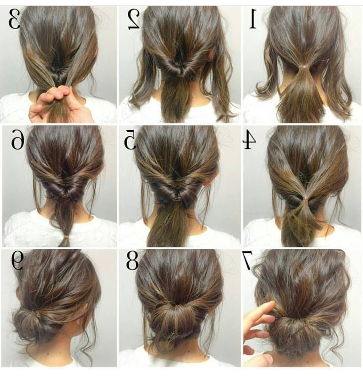 Easy, Hope This Works Out Quick Morning Hair! | • H A I R With Quick Wedding Hairstyles For Long Hair (View 2 of 15)