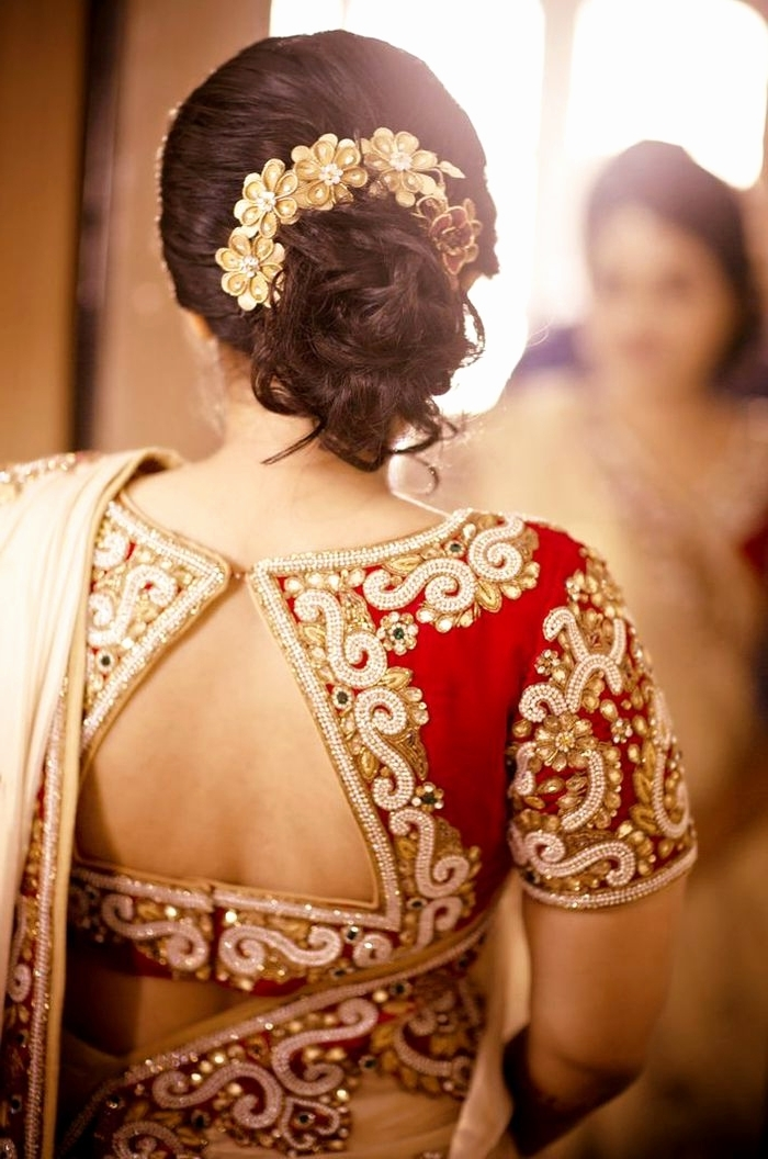 Easy Indian Wedding Hairstyles For Short Hair – The Newest Hairstyles Inside Easy Indian Wedding Hairstyles For Short Hair (View 7 of 15)