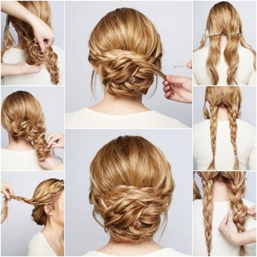 Easy Prom Hairstyles To Do Yourself Half Updo For Long Hair Best Intended For Easy Wedding Hairstyles For Long Thick Hair (View 7 of 15)