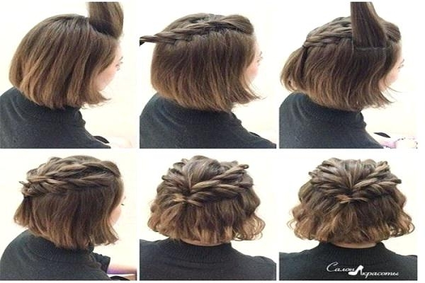 Easy Styles For Short Hair Beautiful Wedding Hairstyles For Short Throughout Easy Bridal Hairstyles For Short Hair (View 4 of 15)