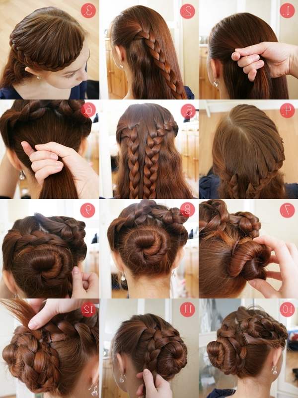 Easy Updos For Long Thick Hair – Hairstyle For Women & Man Intended For Wedding Hairstyles For Medium Length Thick Hair (View 10 of 15)