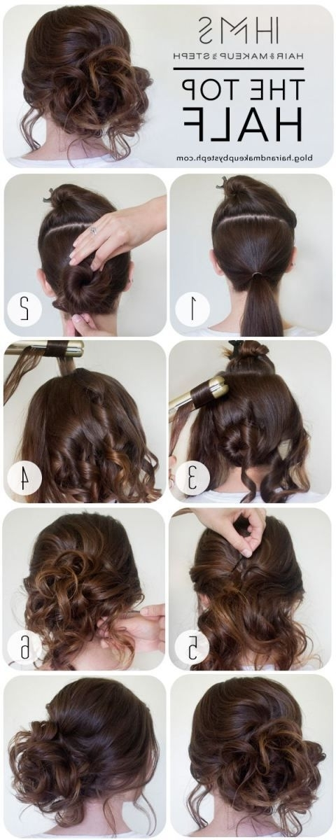 Easy Wedding Hairstyles Best Photos Regarding Easy Wedding Hairstyles For Long Straight Hair (View 12 of 15)