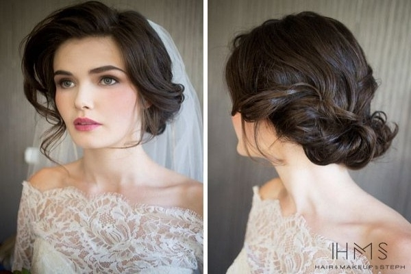 Image Gallery of Vintage Wedding Hairstyles (View 15 of 15 Photos)