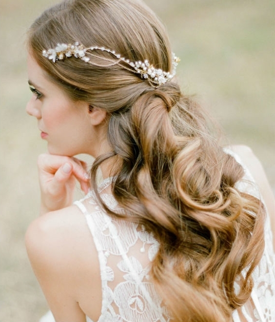 Effortless Chic | Boho Bridal Hairstyles For Carefree Bride Pertaining To Boho Wedding Hairstyles (View 2 of 15)