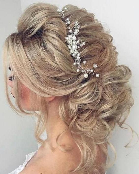 Elegant Bridal Hairstyle #weddinghair #longhair #formalhairstyle Inside Elegant Wedding Hairstyles For Bridesmaids (View 9 of 15)