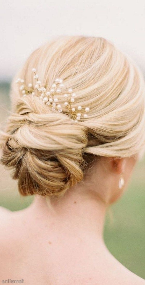 Elegant Bridal Hairstyles For Long Hair (79) | Bridal Hairstyle And Intended For Spring Wedding Hairstyles For Bridesmaids (View 8 of 15)