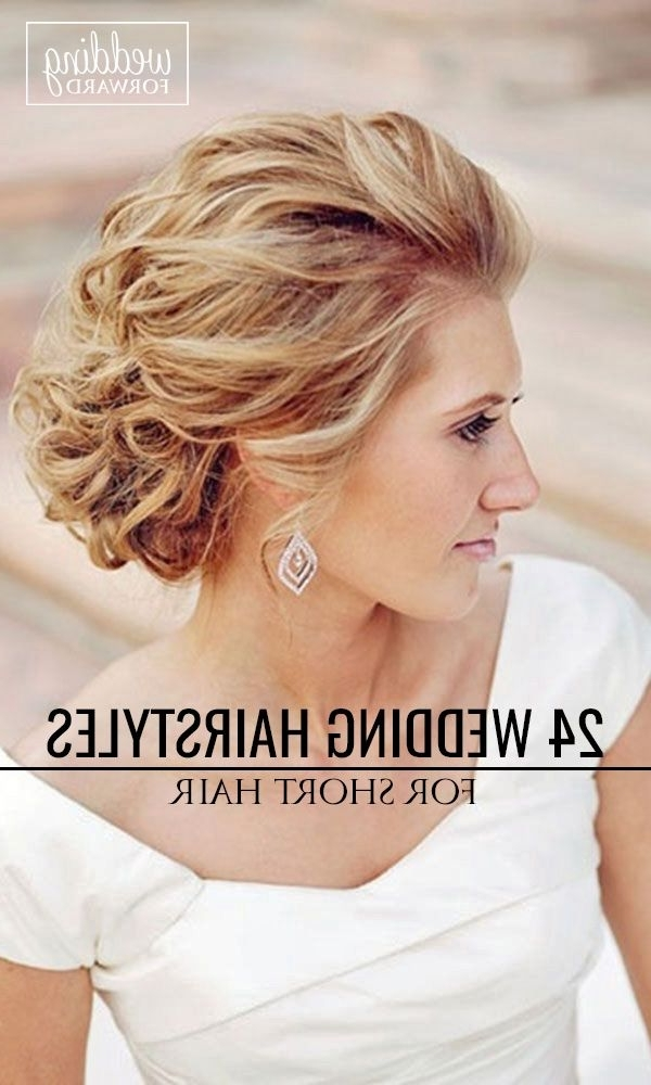 Elegant Hairstyles For Short Hair | Fashion Blog Pertaining To Elegant Wedding Hairstyles For Short Hair (View 5 of 15)