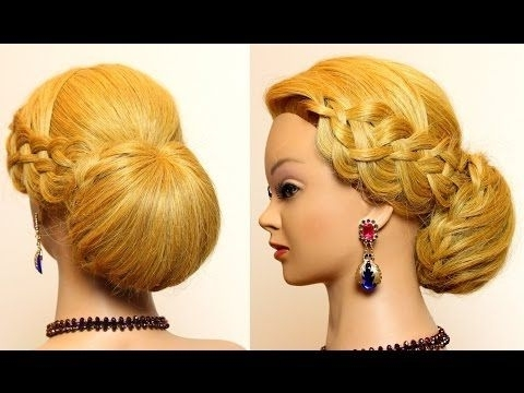 Elegant Updo. Wedding Prom Hairstyles For Long Hair (View 7 of 15)