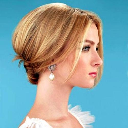 Elegant Wedding Hairstyles For Short Hair | Trends Hairstyles Photos With Elegant Wedding Hairstyles For Short Hair (View 10 of 15)
