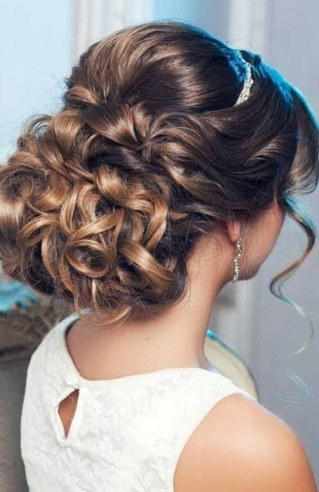 Featured Photo of Tied Up Wedding Hairstyles For Long Hair