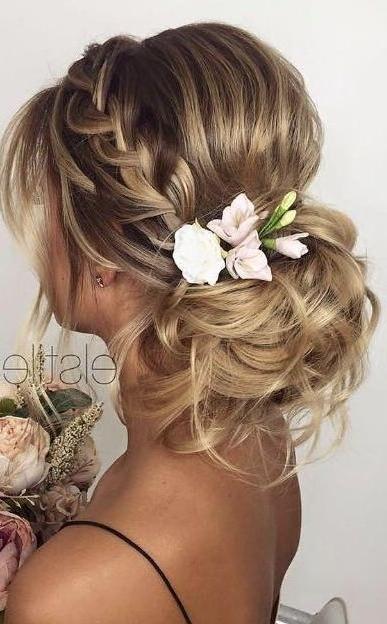 Elstile Wedding Hairstyle Inspiration | Pinterest | Wedding Inside Messy Bun Wedding Hairstyles (View 4 of 15)