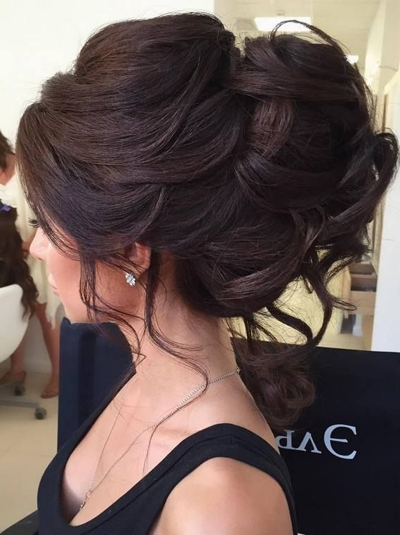 Elstile Wedding Hairstyles For Long Hair 33 | Pinterest | Brunette With Regard To Brunette Wedding Hairstyles (View 9 of 15)