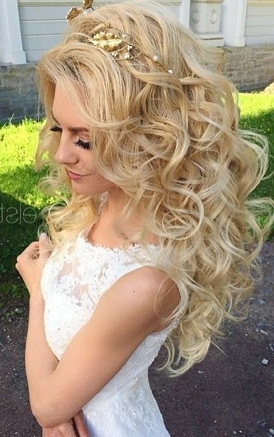 Elstile Wedding Hairstyles For Long Hair 56 | Pearls, Flowers And With Regard To Wedding Hairstyles For Long Hair With Flowers (View 15 of 15)