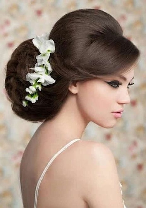 Emejing Wedding Hairstyles For Straight Hair Photos – Styles & Ideas In Wedding Hairstyles For Straight Hair (View 10 of 15)