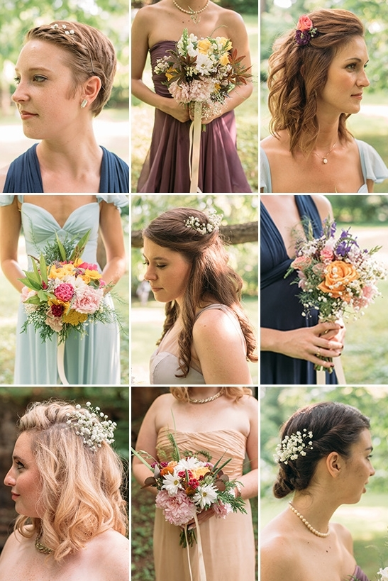 English Garden Diy Backyard Wedding Pertaining To Outdoor Wedding Hairstyles For Bridesmaids (View 10 of 15)