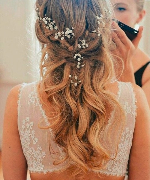 Ever Best Wedding Hairstyles For Fine Hair | Dinga Poonga Pertaining To Wedding Hairstyles For Long Fine Hair (View 9 of 15)