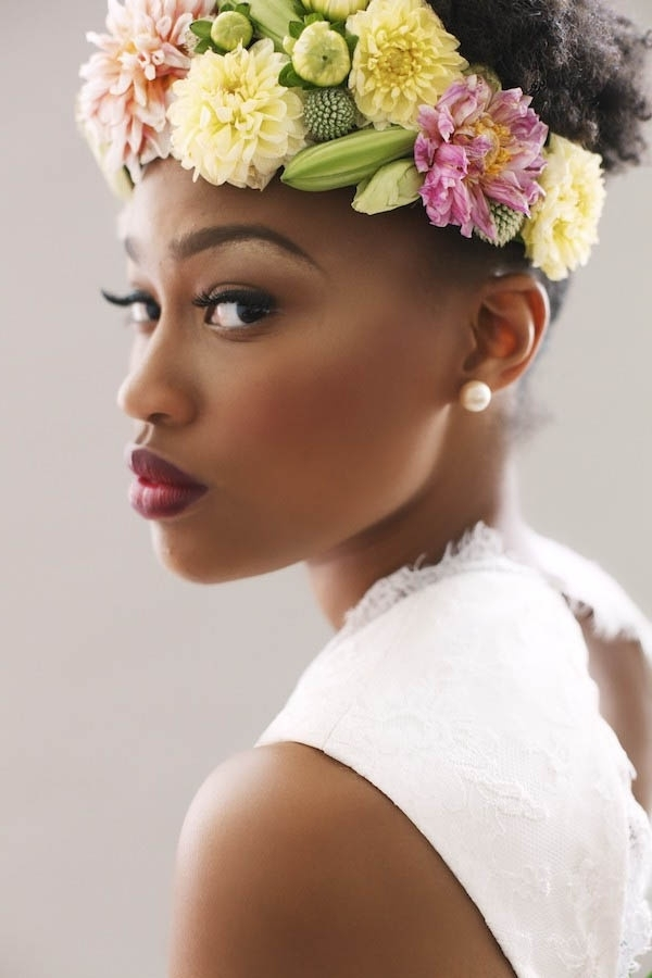 Featured Photo of Wedding Hairstyles For Short Natural Hair