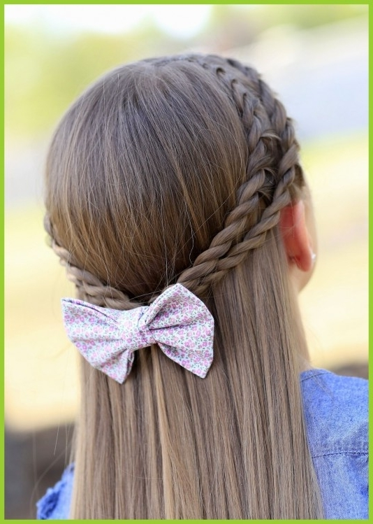 Fascinating Cute Wedding For Kids Hairstyle Little Girl Of Short Intended For Wedding Hairstyles For Kids (View 7 of 15)