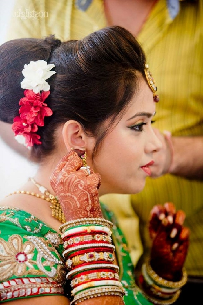Five Top Wedding Hairstyles To Try This Wedding Season | Exploring With Traditional Wedding Hairstyles (View 8 of 15)