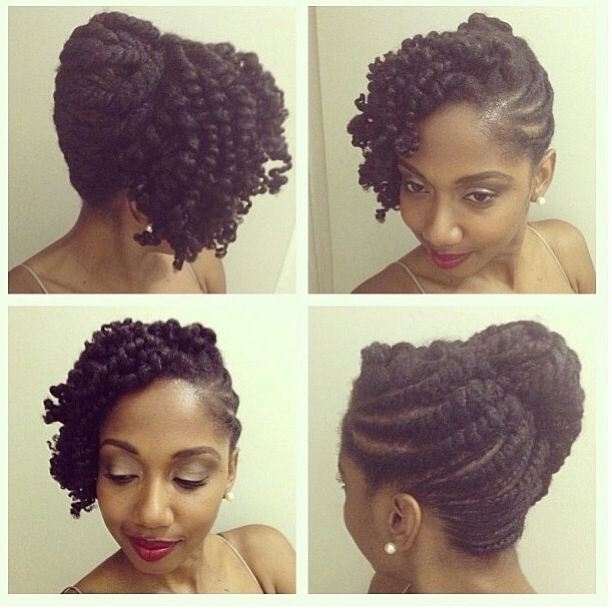 Formal Hairstyles For Natural Black Hair Awesome Black Natural With Wedding Hairstyles For Natural Kinky Hair (View 7 of 15)