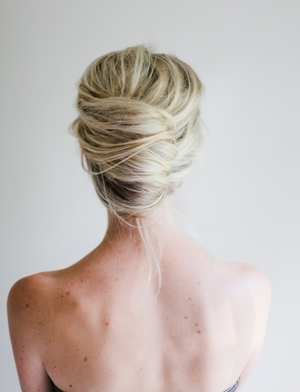 French Twist Long Hair – Hairstyle For Women & Man Pertaining To Roll Hairstyles For Wedding (View 4 of 15)