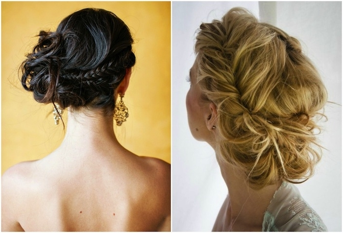Getting Down With Wedding Updos | Percy Handmade Throughout Messy Wedding Hairstyles For Long Hair (View 8 of 15)