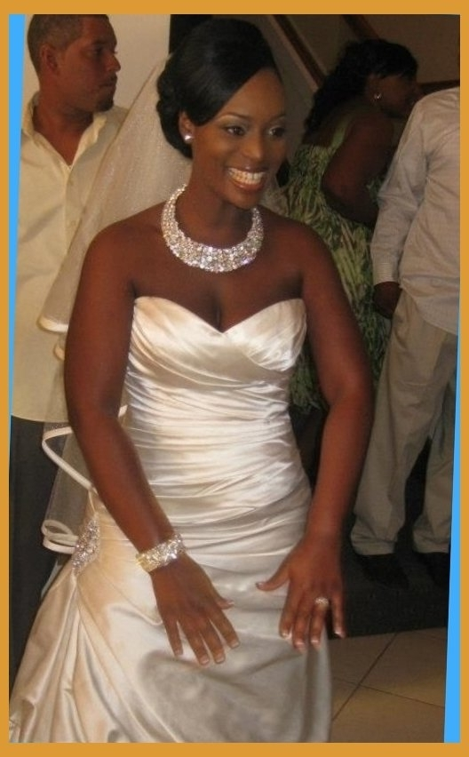 Getting Hitched On Pinterest   Natural Hair Brides, African Within Intended For Wedding Hairstyles For African American Brides (View 10 of 15)