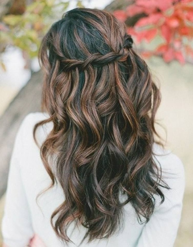 Glam Everyday Boho Hairstyles For Medium Length Hair | Hair Pertaining To Wedding Hairstyles For Medium Length Dark Hair (Gallery 10 of 15)