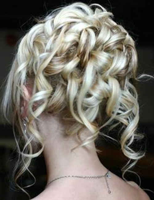 Glamorous Curly Wedding Updos For Medium Length Hair Wedding Pertaining To Bridal Hairstyles For Medium Length Curly Hair (View 5 of 15)