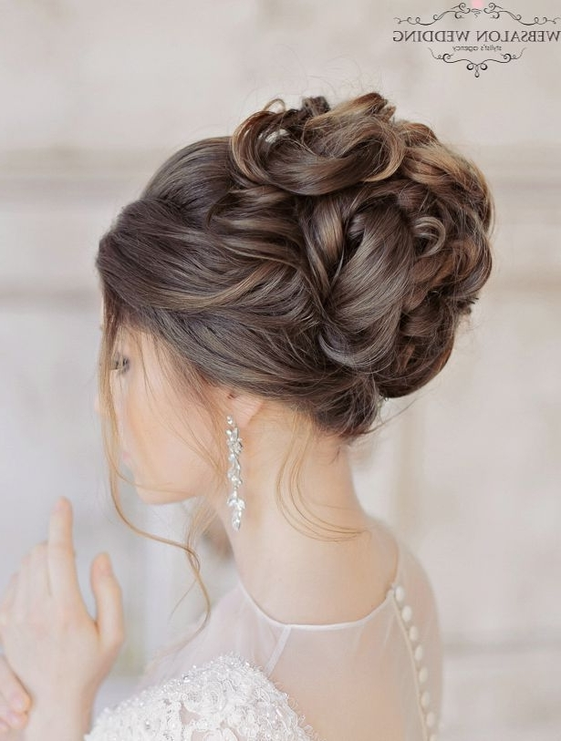 Glamorous Wedding Hairstyles With Elegance   Pinterest   Weddings Regarding Hair Up Wedding Hairstyles (Gallery 4 of 15)